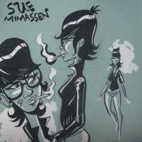 Sue Mimassen by sayunclecomics