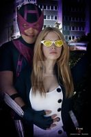 Hawkeye And Mockingbird by JonathanDuran