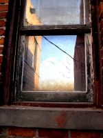 window by piecesOfsky