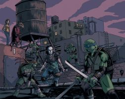 TMNT by nbashowtimeonnbc