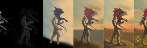 The Dragon Tamer - Steps by Deligaris