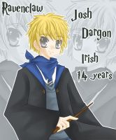 Josh Dargon - HP OriginalChara by Kawaii-Dream