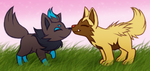 Baby Pups by Wolf-Goddess13