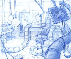 The Lab by BlueRecluse
