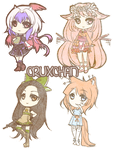 Page Stickers Batch 1 by Mintini