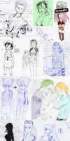 ONE PIECE DUMP by lavenderp