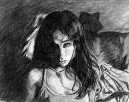Darkness cover- charcoal by kurios