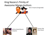 Nazaru's Trinity of Awesome Manga Authors by Nazaru