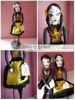 Visual Doll 14 - Keiko by visualdolls