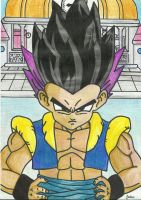 Gotenks by TheMagicUnderpants