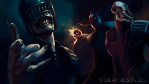 The Dark Judges by Phobos-Romulus