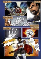 The Saiyans beginning page03 by Conscentia