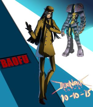 Commission: Baofu - Persona 4 Arena Ultimax by DeathNapalm