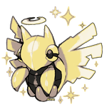 shiny Shedinja GBC devamp by MBLOCK