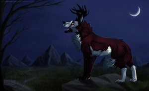 The song of the mountain - Commission by Nereiix