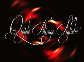 Quijote Sauvage Stylistic Font by MysteriousTemptress