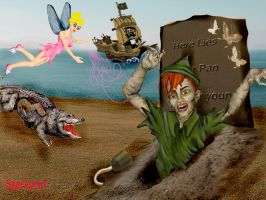 Peter Pan by sparkyrat