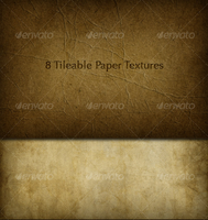 8 Tileable Paper Texture Photoshop Patterns by freebiespsd