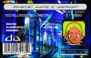 My deviantLICENSE by RedShadowII