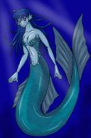 My New Mermaid Character by DracorianPrincess