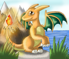 Charizard by Leafeony