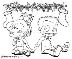 Tommy and Kimi Christmas Crush by J8d