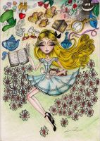Sleeping Alice by Louise-Rosa
