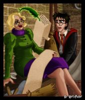 Harry Potter and Rita Skeeter by Harry-Potter-Spain