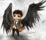 Castiel Chibi-Colored by Virti