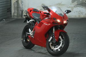 My red ducati 1098 artistic by andrewfox