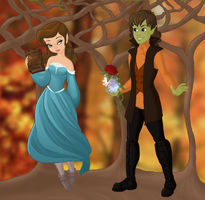 Once Upon a Time - Rumbelle by TheWhovianHalfling