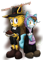.:COLLAB:. Happy Thanksgiving! by WhiteBlade-the-Zero