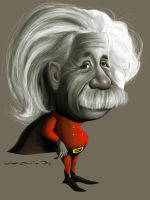 Einstein by waldomatus