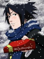Sasuke-Christmas by X-Ray99