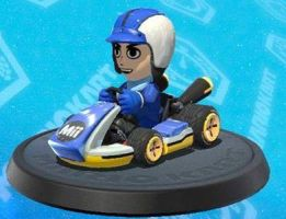 hugo mii kart by anime-nse