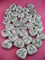 Diablo Two Runes by monsterkookies