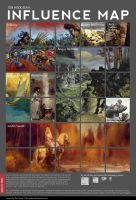 Jon Hodgson's Influence Map by JonHodgson