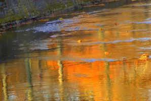 Autumn Impressionism II by SharonLeggDigitalArt