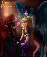 Royal puppeteers by DancesWithMeepits