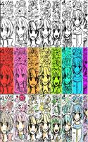 Rainbow Scribbles by silentpokefreak01