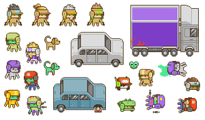 Project Needle sprites by Vertigo-zero