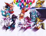 Eeveelution Party by GeniusRKO35