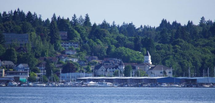 Port Orchard at a Distance by Danarchy84