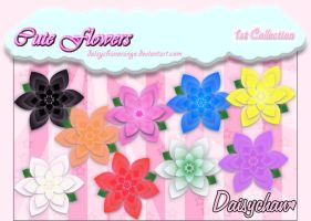 Cute Flowers - 1st Collection by DaisychanOrange