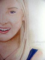 Heather Morris Close Up by LauraLeeIlly
