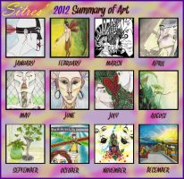 2012 Art Summary =D by sitres