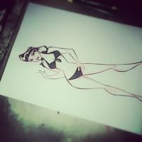 pin up cartoon by celaoxxx