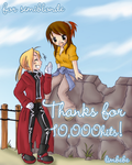 thanks10,000hits by limbebe