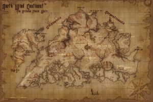North Wind Continent by daeVArt