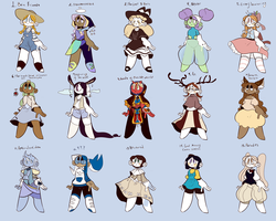 Music Inspired adopt Batch (12/15 open) by Cloniico